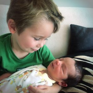 Tyler and brother Benicio