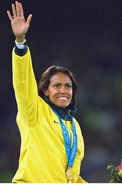 Celeb mums who have banked cord blood cathy freeman cordbank new